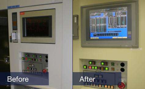 熱処理炉改造事例DDCの載換え改造