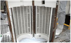 熱処理炉改造事例ヒーターサイズの変更